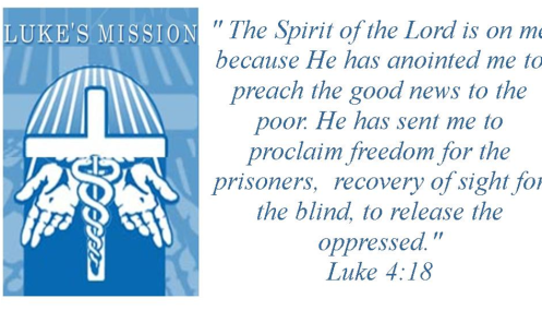 lukes mission logo with scripture